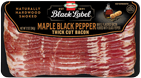 HORMEL<sup>&reg;</sup> BLACK LABEL<sup>&reg;</sup> Premium Maple Black Pepper Bacon