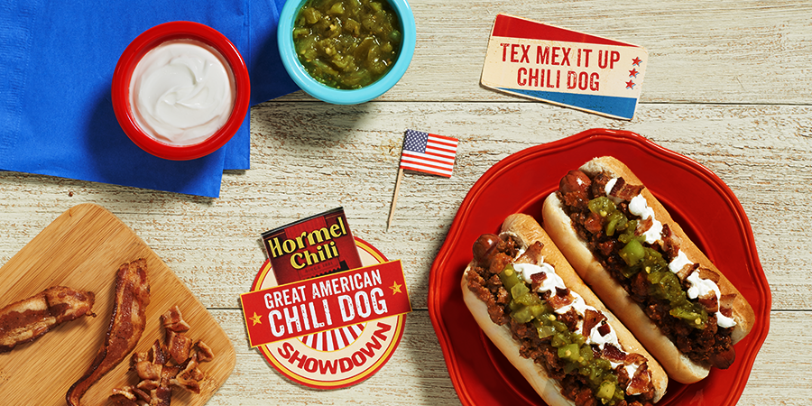 The Tex Mex It Up Chili Dog