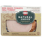 HORMEL<sup>&reg;</sup> NATURAL CHOICE<sup>&reg;</sup> Sun-Dried Tomato Deli Turkey