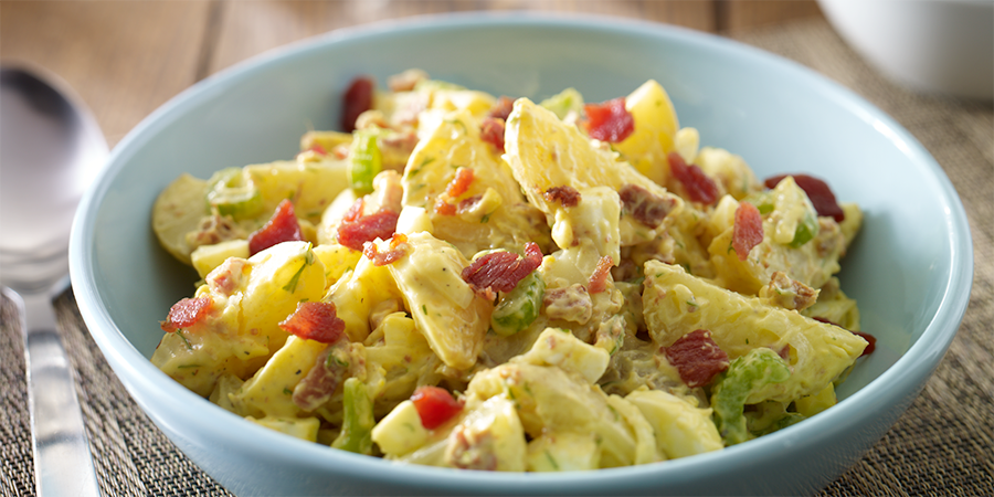 Quick Bacon Potato Salad