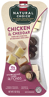 HORMEL<sup>™</sup> NATURAL CHOICE<sup>®</sup> SNACKS Chicken & Cheddar