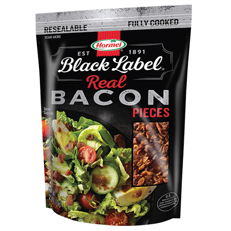HORMEL<sup>®</sup> BLACK LABEL<sup>®</sup> Bacon Pieces Pouch
