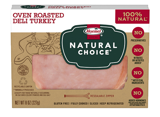 HORMEL<sup>&reg;</sup> NATURAL&nbsp;CHOICE<sup>&reg;</sup> Oven Roasted Deli Turkey