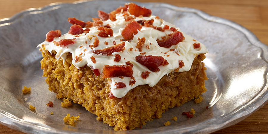 Bacon Pumpkin Bars