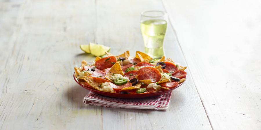 Pepperoni Nachos
