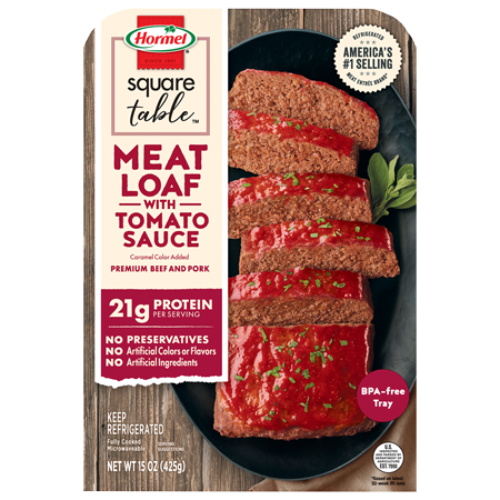 HORMEL<sup>®</sup> Homestyle Meatloaf with Tomato Sauce