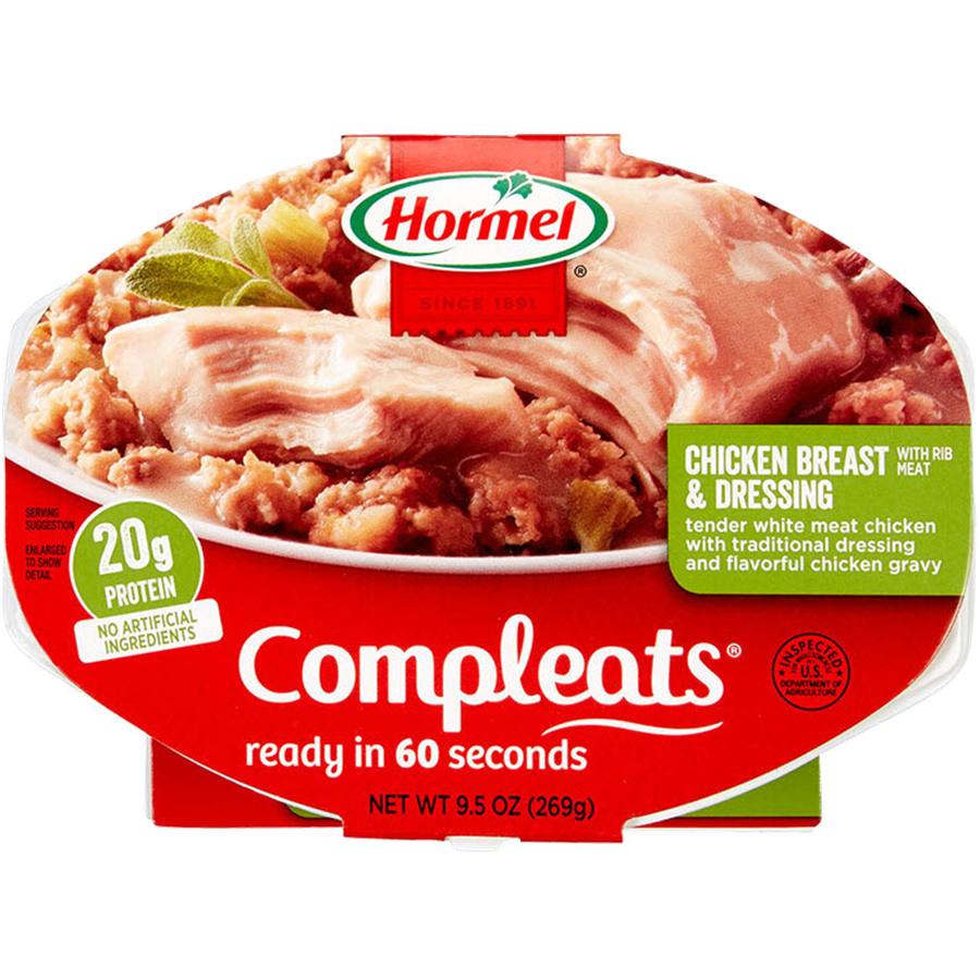 HORMEL<sup>®</sup> COMPLEATS<sup>®</sup> Chicken Breast & Dressing