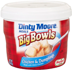 DINTY MOORE<sup>®</sup> Big Bowls Chicken & Dumplings