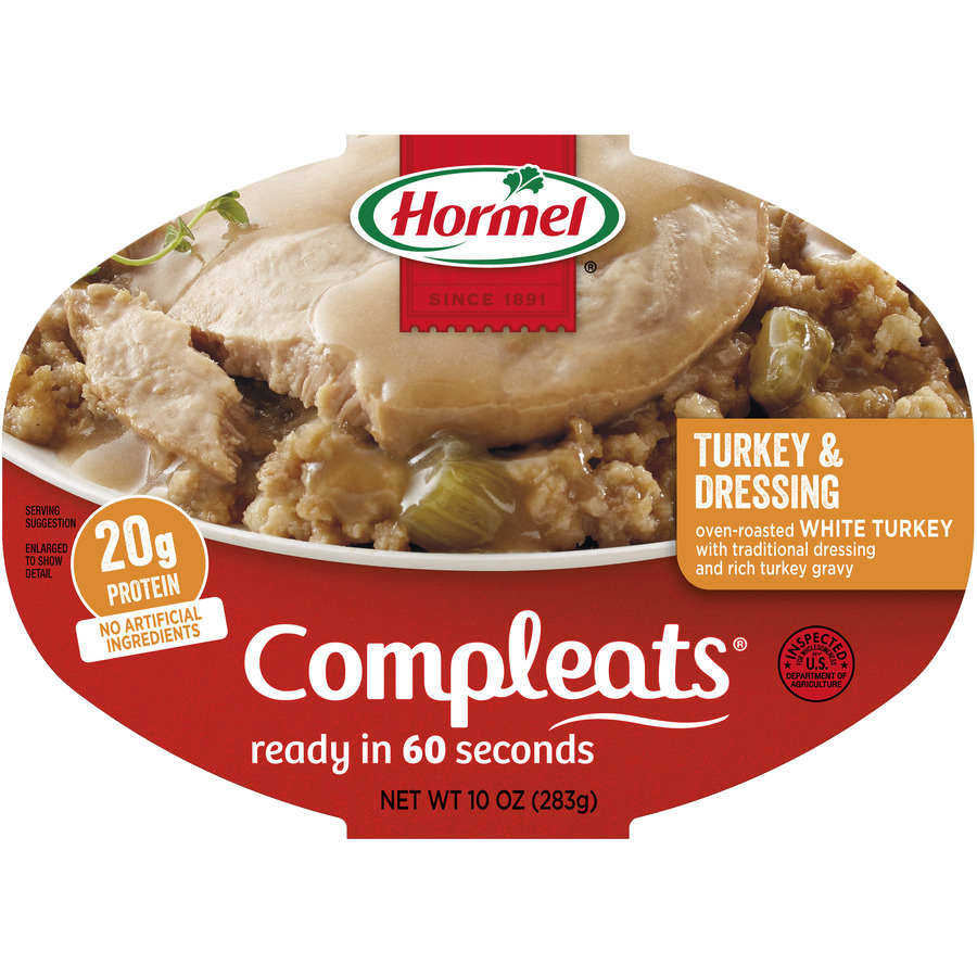 HORMEL<sup>&reg;</sup> COMPLEATS<sup>&reg;</sup> Turkey &amp; Dressing