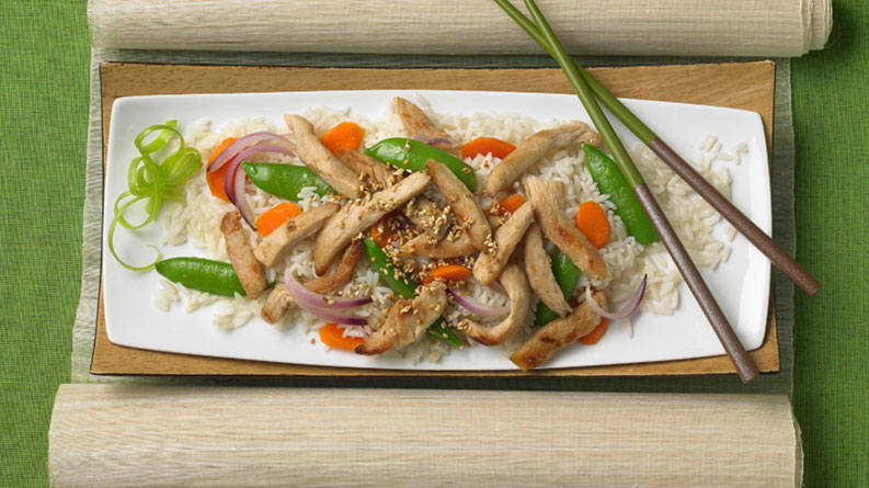 Sweet-and-Sour Sesame Stir-fry