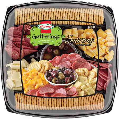 HORMEL GATHERINGS<sup>®</sup> Supreme Party Tray 39.7oz