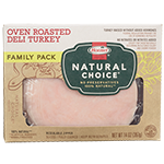 HORMEL<sup>&reg;</sup> NATURAL CHOICE<sup>&reg;</sup> Oven Roasted Deli Turkey Family Pack