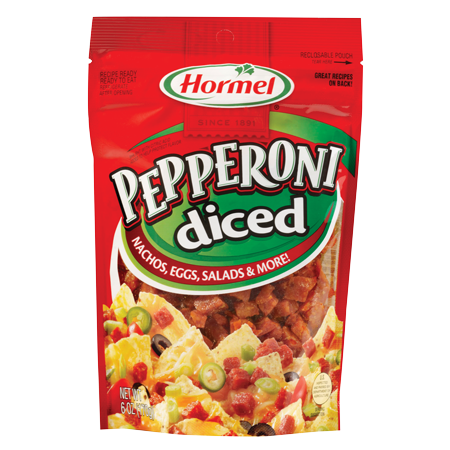 HORMEL<sup>®</sup> PILLOW PACK<sup>®</sup> Pepperoni - Diced