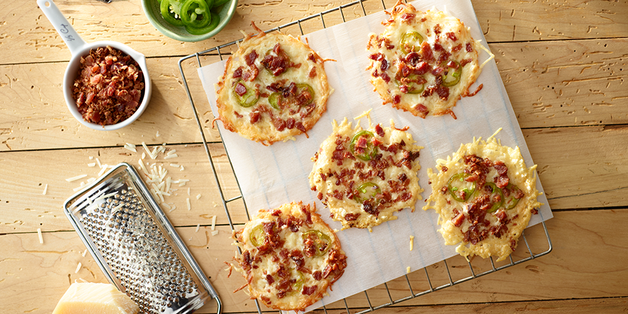 Cheese & Jalapeño Bacon Crispers